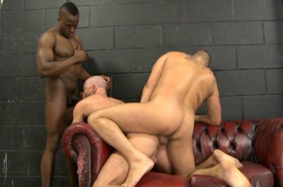 Description Interracial raw cocks