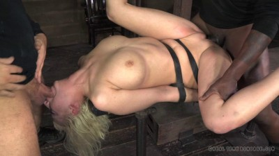 RTimeBondage – Cherry Torn belted down, planked and stuffed full of cock