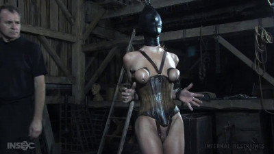 Bondage, suspension and torture for horny slut part 2