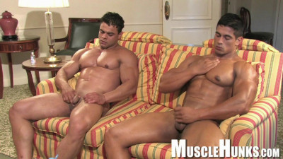 MuscleHunks — Brad Hatcher, Pepe Mendoza