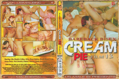 watch hot vid - (Bareback Bisex Cream Pie vol.13)