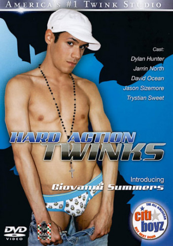 Hard Action Twinks - Giovanni Summers, Jason Sizemore, Dylan Hunter