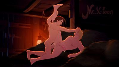 Mr X-Toon - Kristoff & Flynn Rider