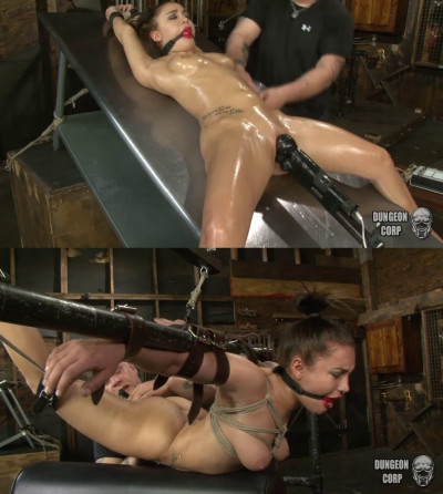 Super bondage, strappado and torture for very beautiful girl
