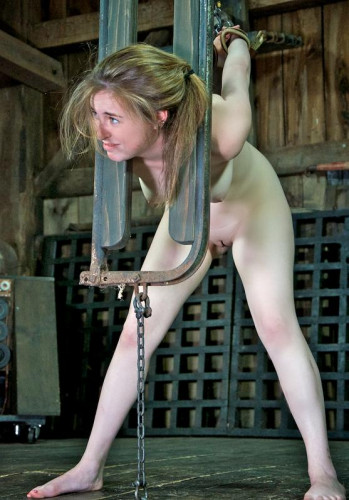 Young blonde tries BDSM