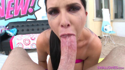 Tit Fucking And Cock Sucking With Romi