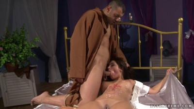 Description The exorcism of Angel Rivas - Extreme, Bondage, Caning