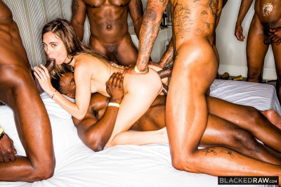Girlfriend Gangbang At The After Party - 720p