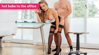 Alessandra Jane — Hot Babe In The Office HD 720p