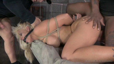 RTB – Hot Blonde Holly Heart strictly restrained and Anally fucked by Bbc