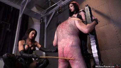 femdom video english (Man down)...