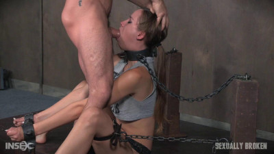 Zoey Laine Is Chained And Shackled From the top to the bottom of - HD 720p