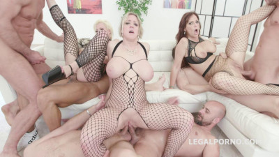Outnumbered Gangbang Edition With Busty Milfs