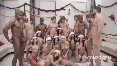 10 Versus 10 Anal Orgy - Drinks Included!
