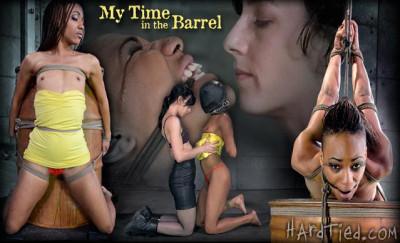 HardTied  Nikki Darling   My Time In The Barrel
