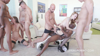 Psico DP Gangbang With Belle Clair & Tina Kay