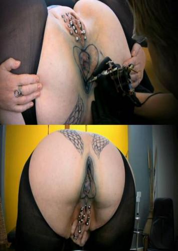 The Tattoo On Asshole