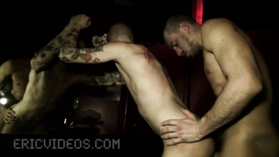 Damian Is Getting Filled Up By 2 Huge Dicks