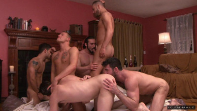 First Gang Bang Party For Sexy Brandon