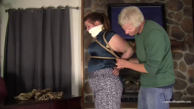 Pearl Rose - Tight, Long, Chicken Wing Hogtie