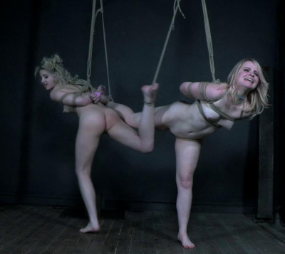 Dirty Bondage For Cute Blond Slaves