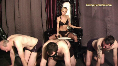 Young-femdom – Selection of slaves – 2017