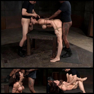 Tightly Tied In Rope (25 Mar 2016) Sexually Broken