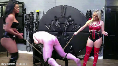 Mistress Tess - Legs And Ass Take The Cane