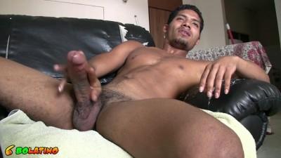 Huge straight Latino cock