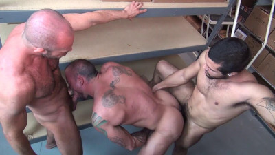 Sean Duran, Matt Stevens and Mario Cruz