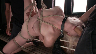 Young Slut takes 2 Massive Cocks - Only Pain HD