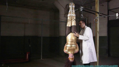 Fayth As the Golden Guardian Trapped Captured Stripped Hung Mummified Demasked part 1