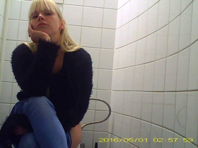Hidden camera in the student toilet Part 10 (2016)