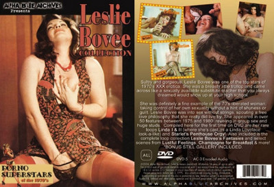 Porno Superstars of the 1970's Leslie Bovee Collection