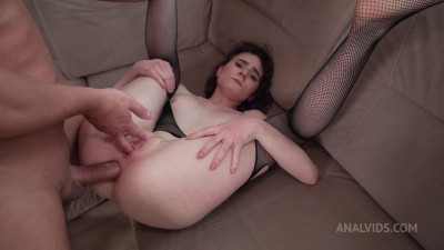 Darcy Dark and Deep penetration in her dark anal! Fucking non-stop