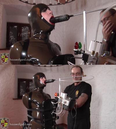 Super bondage, torture and domination for sexy hot slavegirl