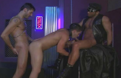 Leather Anal Session