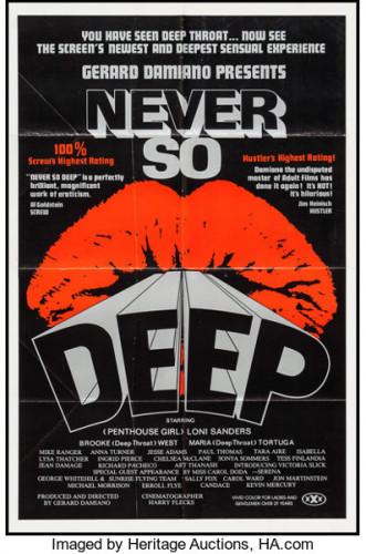 Description Never So Deep(1981)