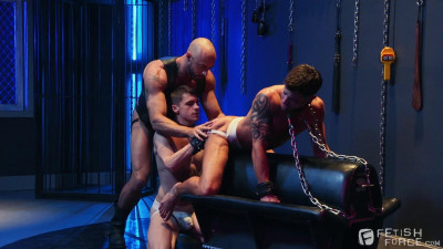 Chained by gays