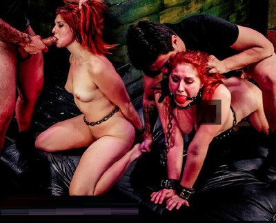 Rose Red Tyrell's Asshole is Fucked Rough  (May 28, 2015)