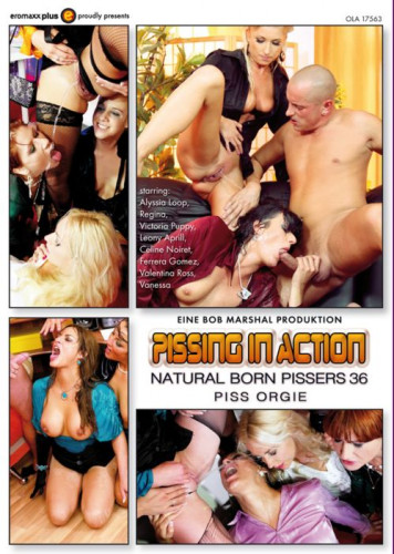 Pissing in Action Natural Born Pissers 36 Piss Orgy (2015)