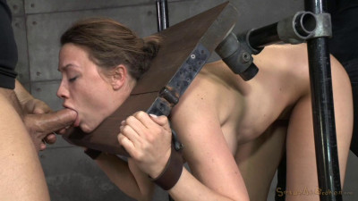 Chanel Preston stuck in stocks and worked