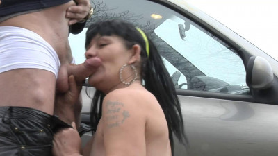 Real roadside whore castinged