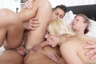 Nathaly Cherie, Angelo Godshack, Mark Black (First time, but not the last!) - three, first, video