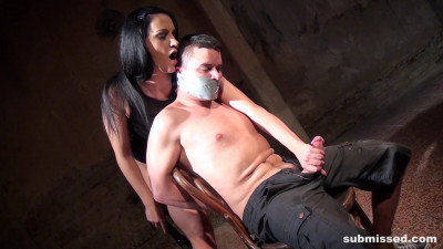 Clair And Her Prey Firmly Bound To The Chair – Clair Brooks – Full HD 1080p