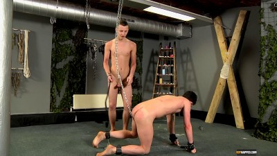 Brett Chained Up And Abused Brett Wright Reece Bentley 1080p (2013)