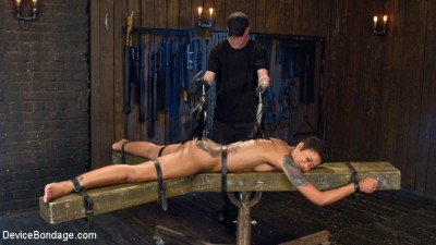 Penthouse Pet Skin Diamond Squirting in Brutal Bondage and Punished!!