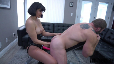 HD Femdom Sex Videos Feminist Assassin Penny Enslaves Colby Jansen Part 2