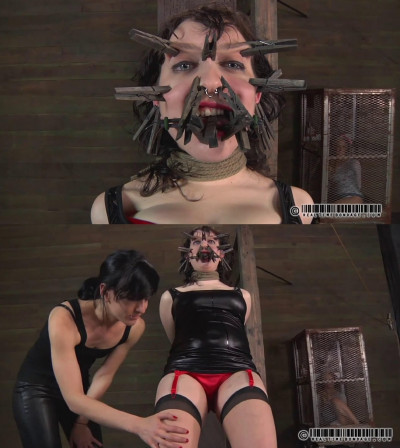 Tight bondage, spanking and torture for very hot bitch part 1
