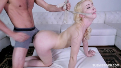 Submissived Gagged and Fucked Darcie Belle FHD